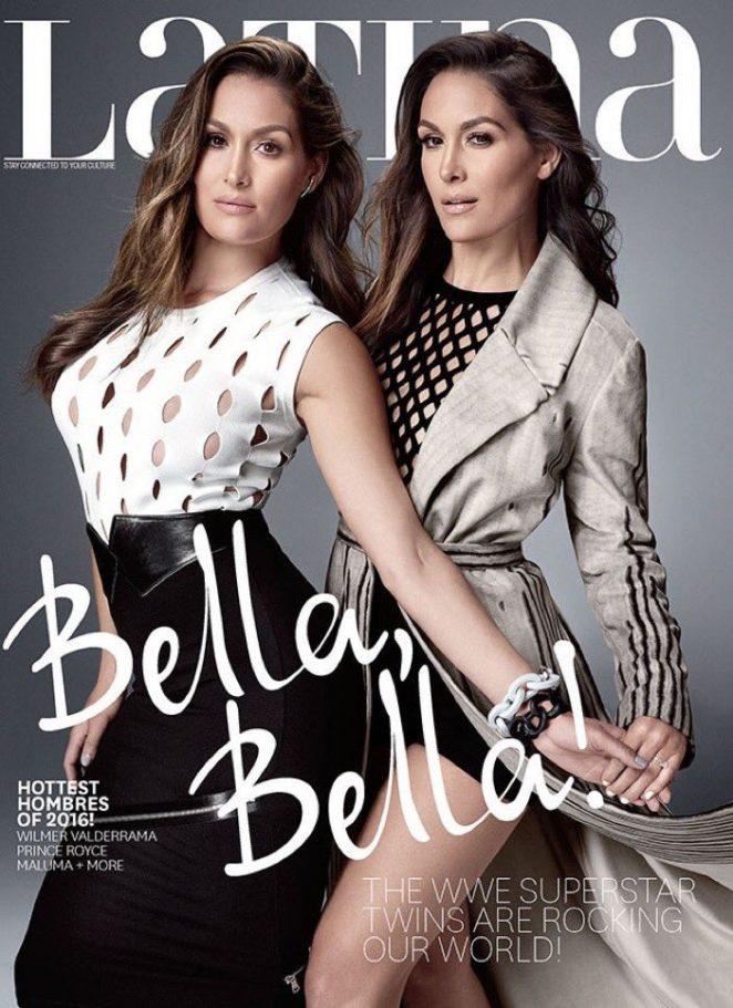 Brie and Nikki Bella - Latina Magazine (August 2016)
