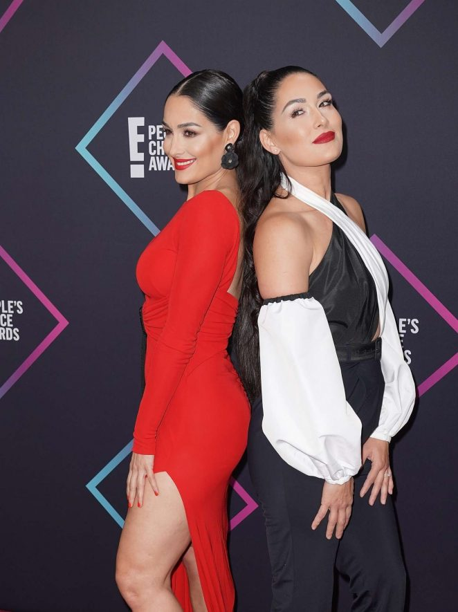 Brie Bella 2018 : Brie and Nikki Bella: Peoples Choice Awards 2018 -08