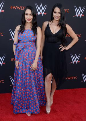 Brie and Nikki Bella - WWE FYC Event in Los Angeles