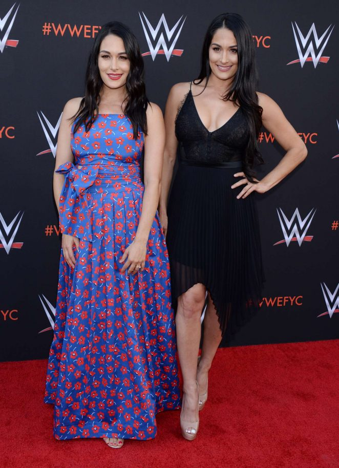 Brie and Nikki Bella – WWE FYC Event in Los Angeles