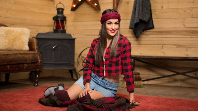 Brie Bella - Cabin Fever Photoshoot 2015