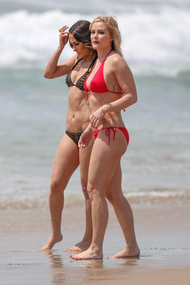 Nude girls big tits in public