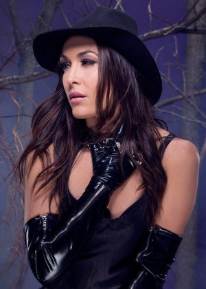 Brie Bella - WWE Divas Deadman Photoshoot 2015