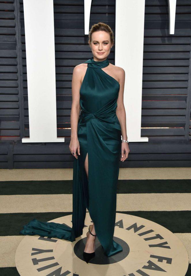 Brie Larson - 2017 Vanity Fair Oscar Party in Hollywood