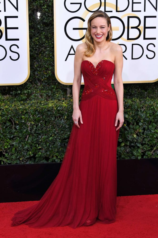 Brie Larson - 74th Annual Golden Globe Awards in Beverly Hills