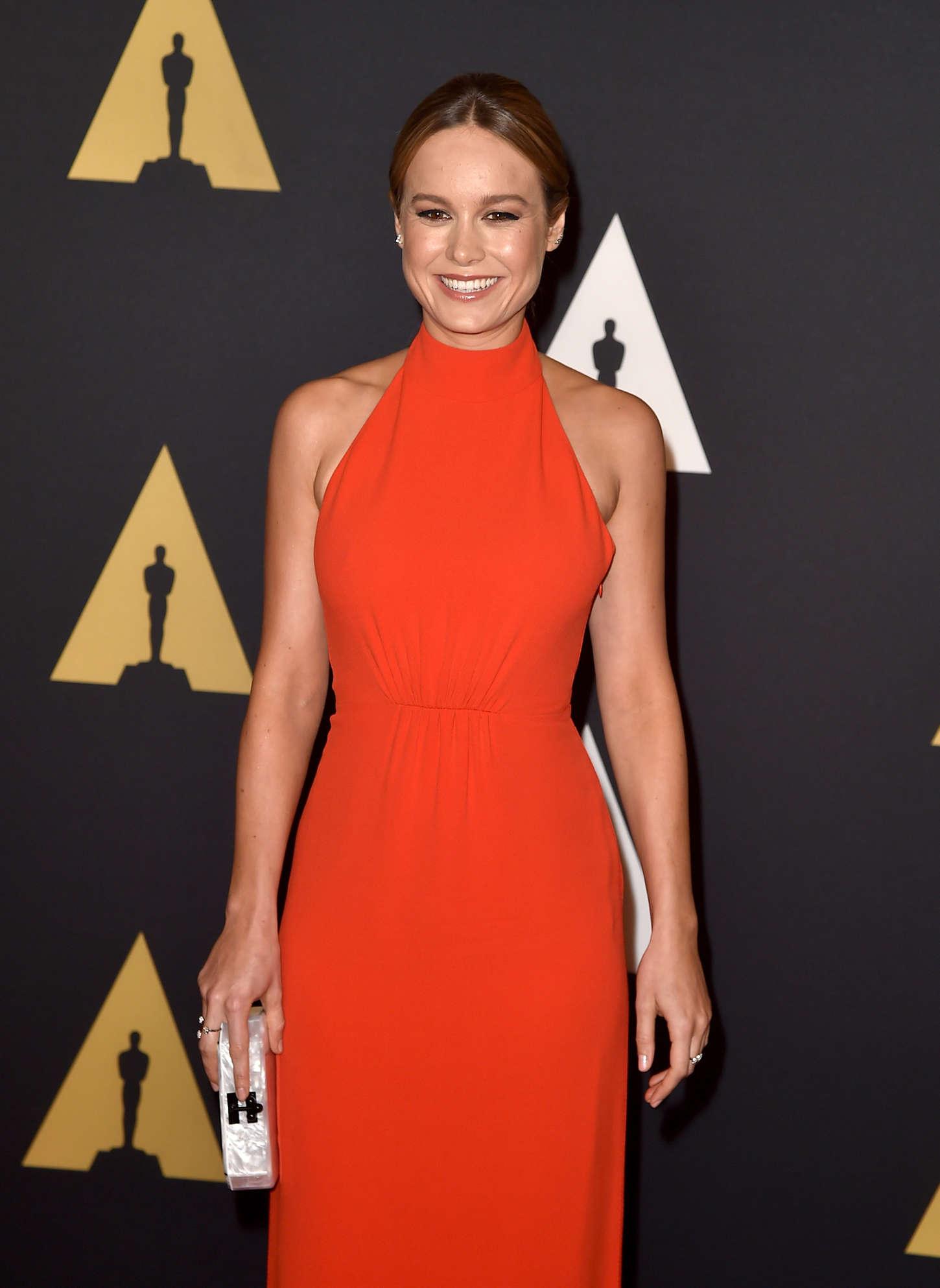 Brie Larson 2015 : Brie Larson: Governors Awards 2015 -04