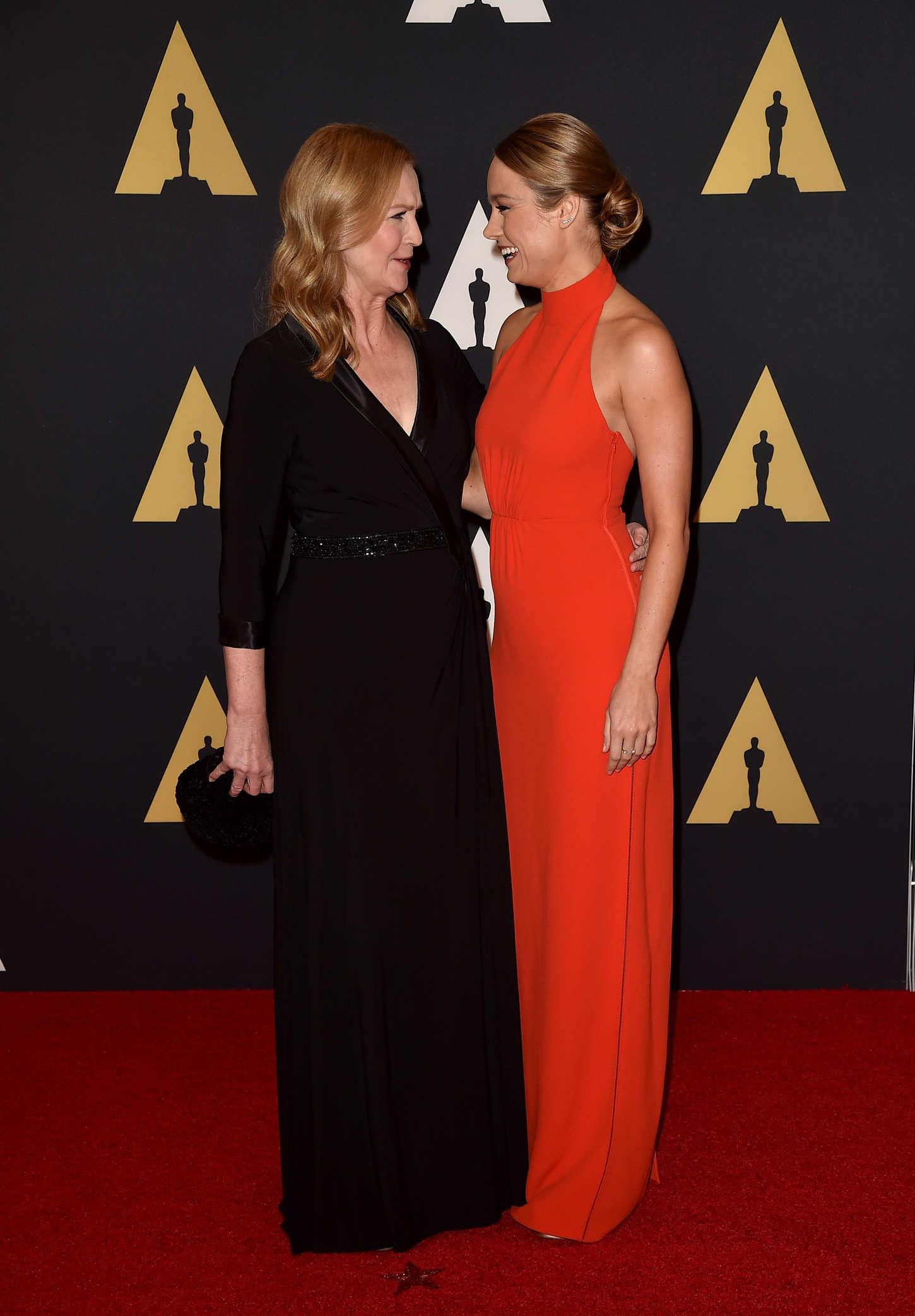 Brie Larson 2015 : Brie Larson: Governors Awards 2015 -06