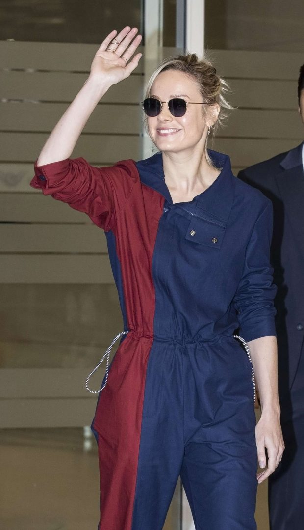 Brie Larson - Arrives at Incheon International Airport in Incheon