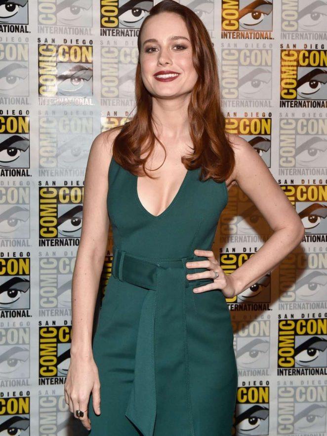 Brie Larson at Comic-con 2016 in San Diego