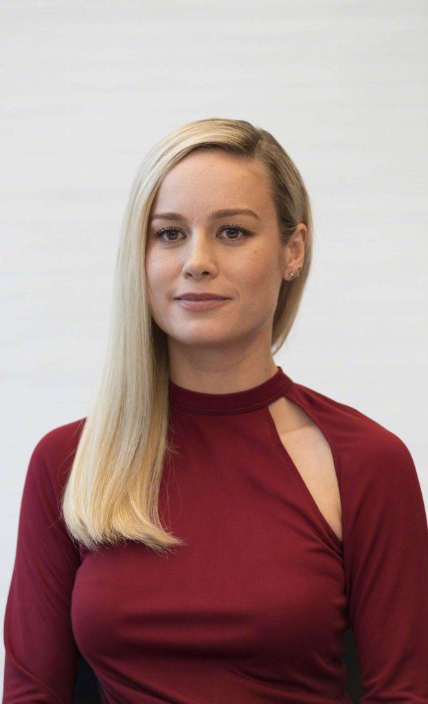 Brie Larson - 'Avengers: Endgame' Press Conference in LA