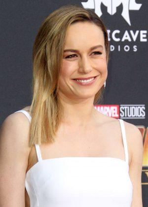 Brie Larson - 'Avengers: Infinity War' Premiere in Los Angeles