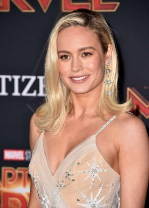Brie Larson - 'Captain Marvel' Premiere in Los Angeles
