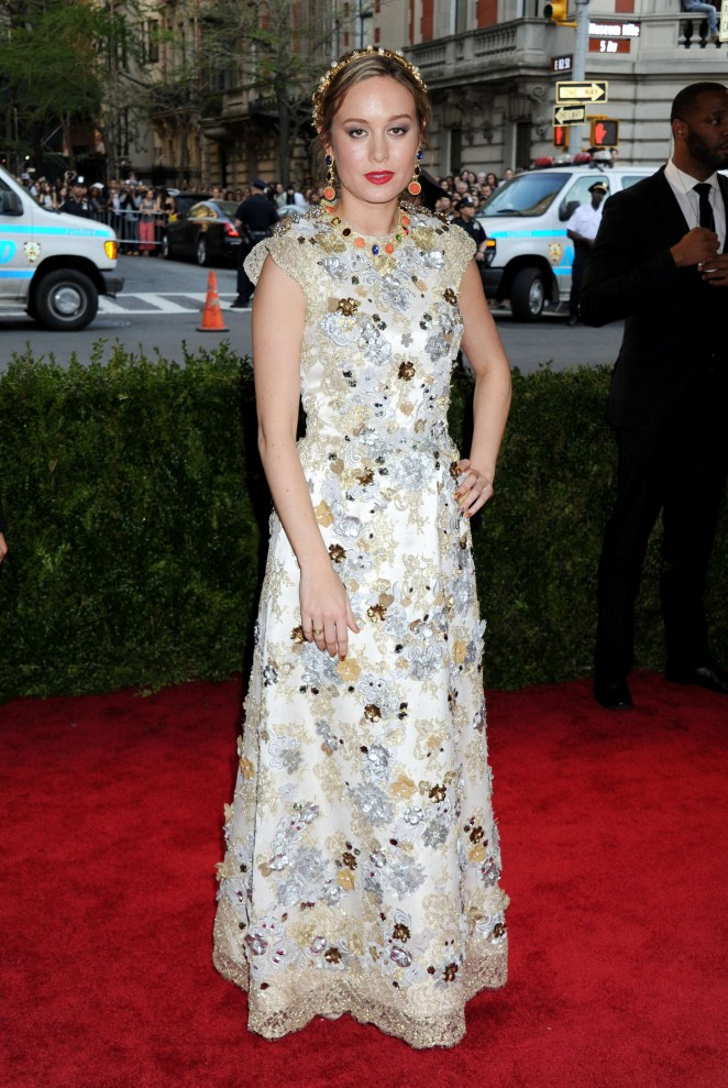 Brie Larson – 'China: Through The Looking Glass' Costume Institute Benefit Gala in NYC