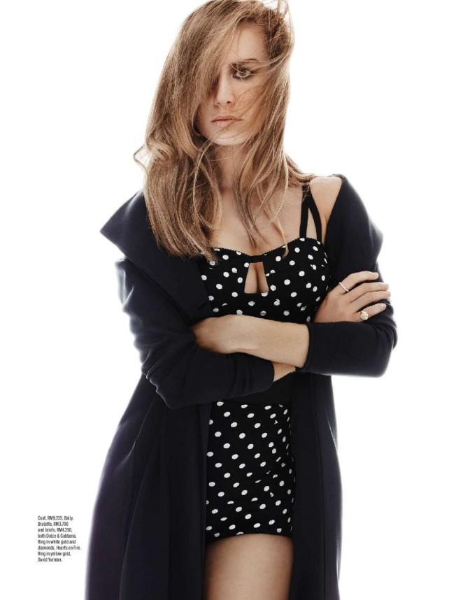 Brie Larson - ELLE Malaysia Magazine (April 2016)