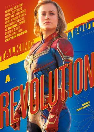 Brie Larson - Empire UK Magazine (February 2019)