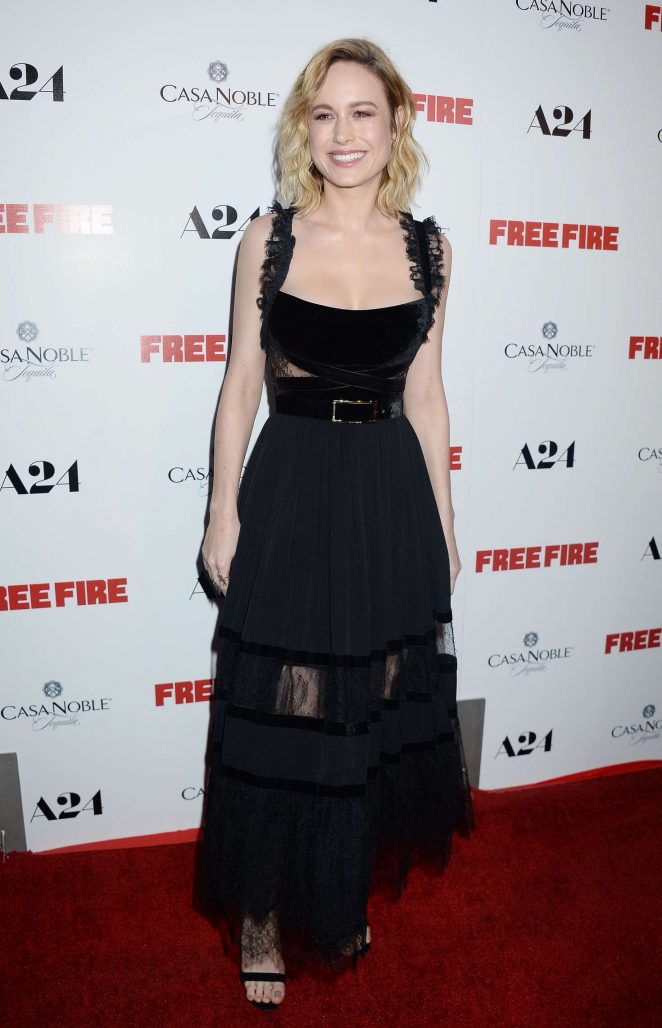 Brie Larson - 'Free Fire' Premiere in Los Angeles