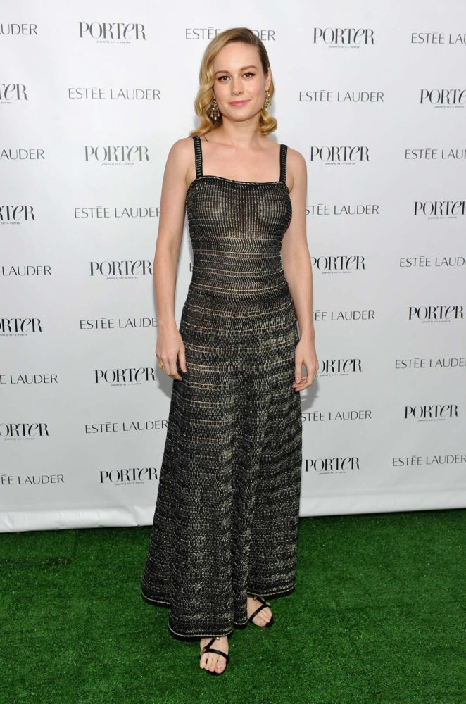 Brie Larson - Incredible Women Gala hosted by PORTER in Hollywood