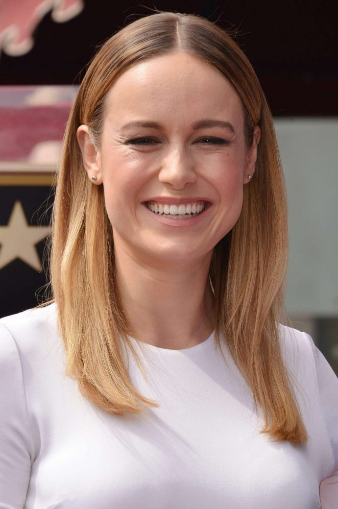 Brie Larson John Goodmans Hollywood Walk Of Fame