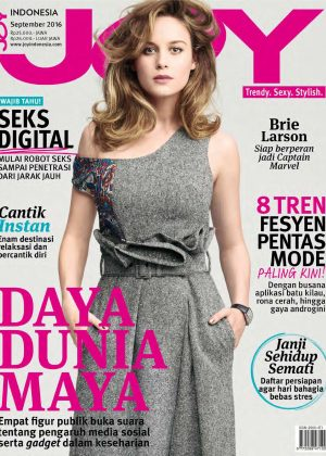 Brie Larson - Joy Indonesia Magazine (September 2016)