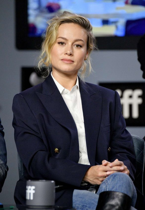 Brie Larson - 'Just Mercy' press conference during the 2019 Toronto International Film Festival