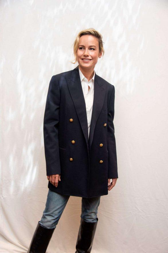 Brie Larson - 'Just Mercy' Press Conference Portraits - 2019 TIFF