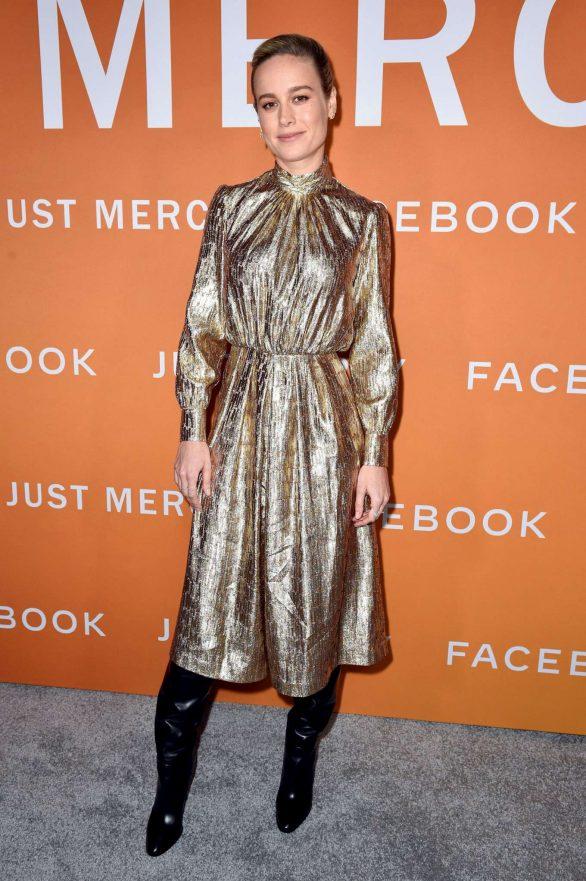 Brie Larson - 'Just Mercy' Screening in Los Angeles