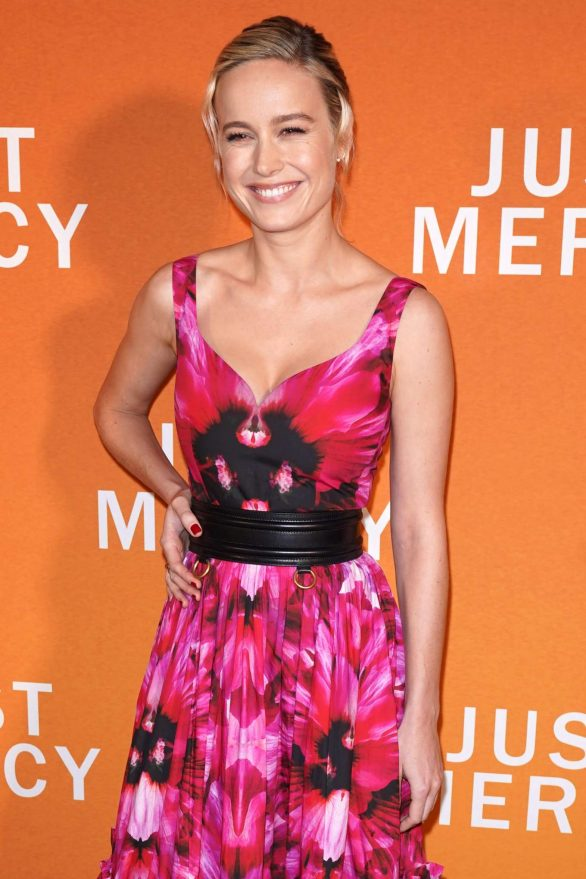Brie Larson - 'Just Mercy' Special Reception in New York