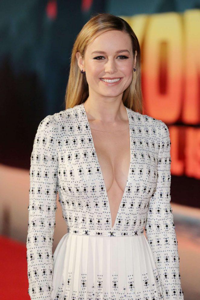 Brie Larson - 'Kong: Skull Island' Premiere in London