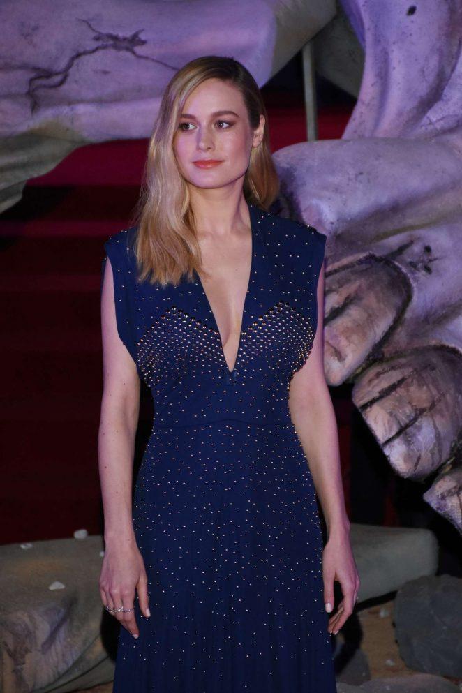 Brie Larson – 'Kong: Skull Island' Premiere in Mexico City
