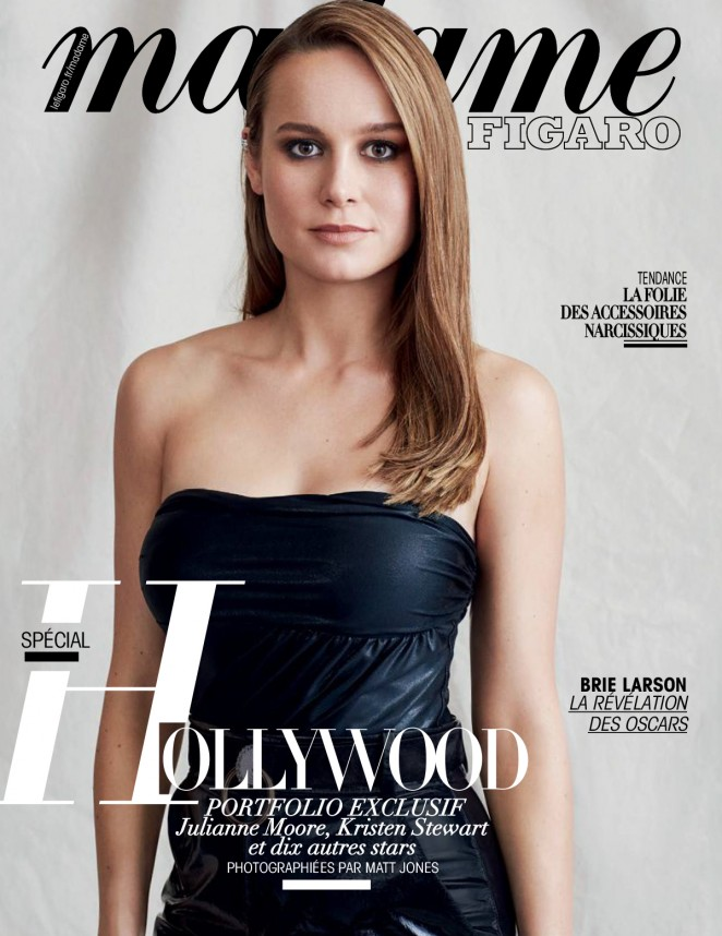 Brie Larson - Madame Figaro Magazine (March 2016)