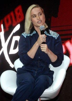 Brie Larson - Marvel Studios At Comic-con In Sao Paulo