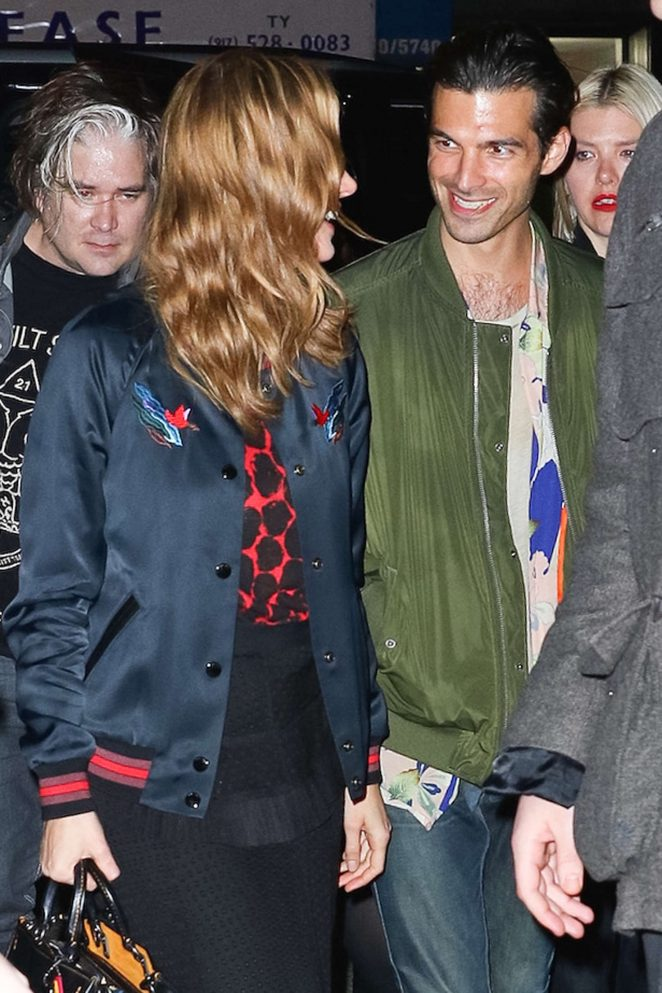 Brie Larson Night out in New York -04