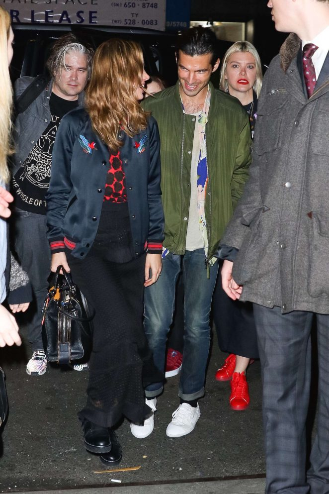 Brie Larson Night out in New York -13