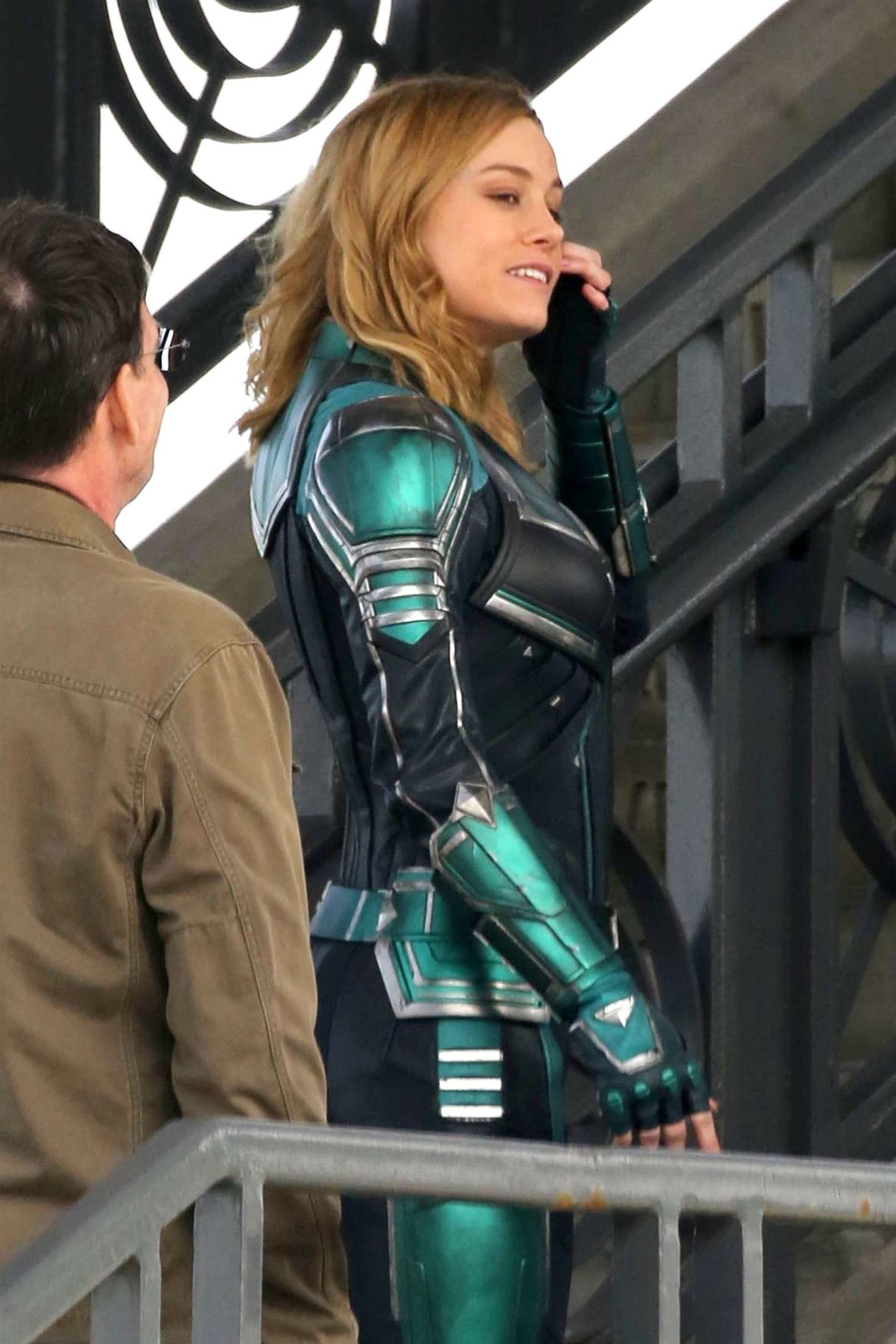 Brie Larson 2018 : Brie Larson: On the set of Captain Marvel -10