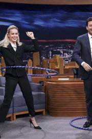 Brie Larson - On 'The Tonight Show with Jimmy Fallon' in NY