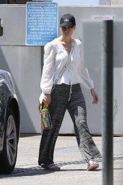 Brie Larson - Outside a gym in LA