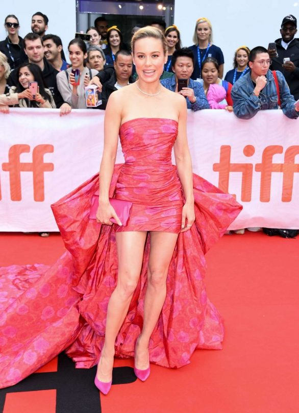 Brie Larson - Premiere of 'Just Mercy' during the 2019 TIFF