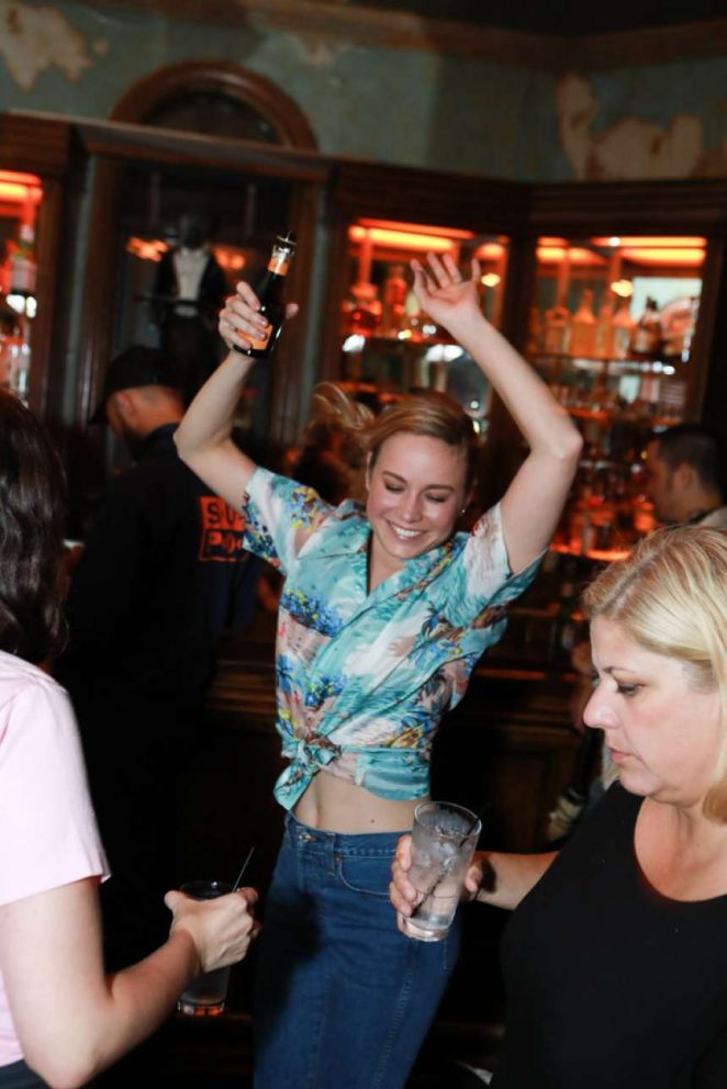 Brie Larson - Rodarte After Party in NYC