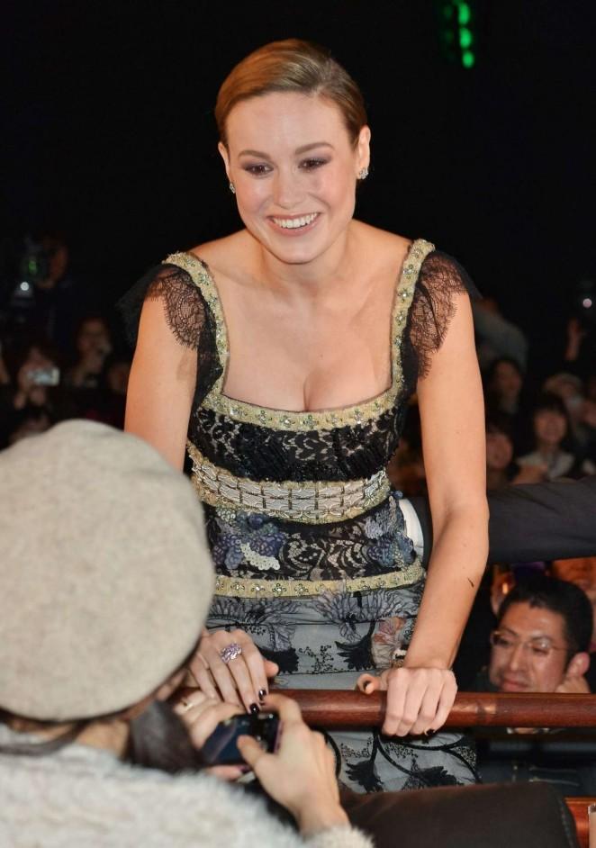 Brie Larson – 'Room' Premiere in Tokyo