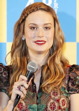 Brie Larson - 'Room' Press Conference in Tokyo