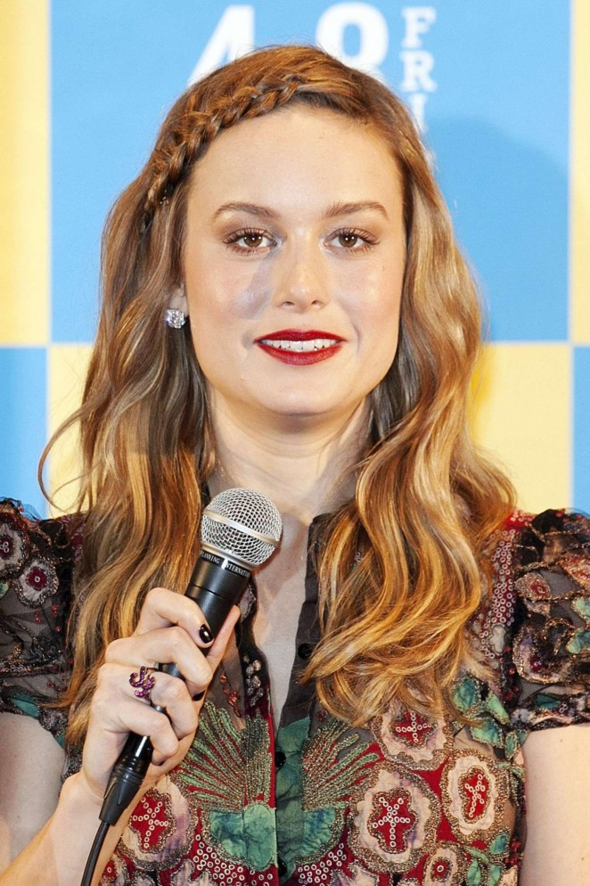 Brie Larson - 'Room' Press Conference in Tokyo