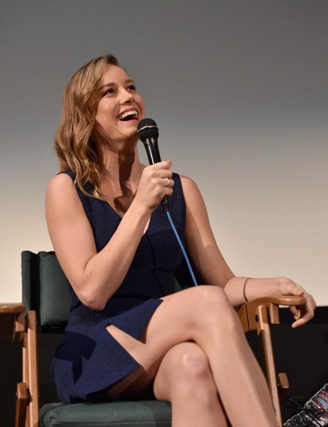 Brie Larson - Room Screening at the Aero Theatre in Santa Monica