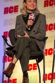 Brie Larson - Speak at 2019 ACE Comic Con in Rosemont - Illinois