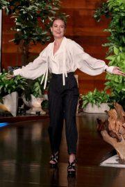 Brie Larson - 'The Ellen DeGeneres Show' in Burbank