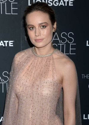 Brie Larson - 'The Glass Castle' Premiere in NY