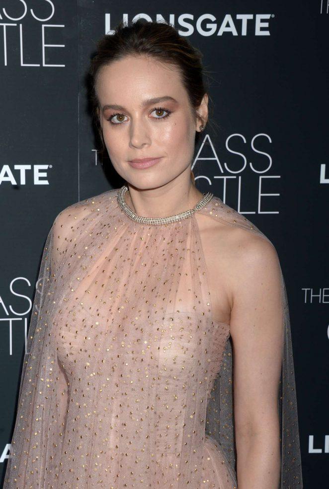 Brie Larson - 'The Glass Castle' Premiere in NY