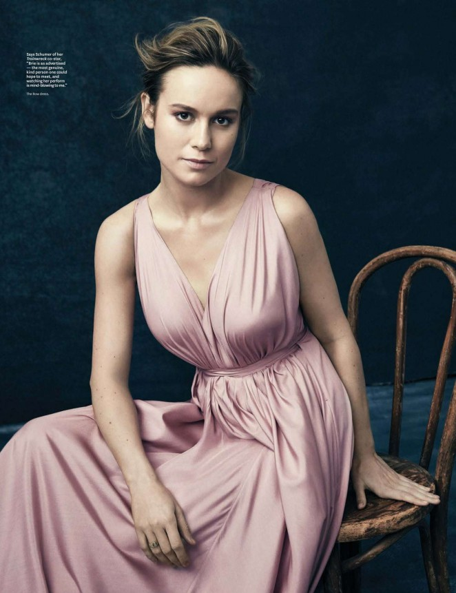 Brie Larson – The Hollywood Reporter Magazine (January 2016)