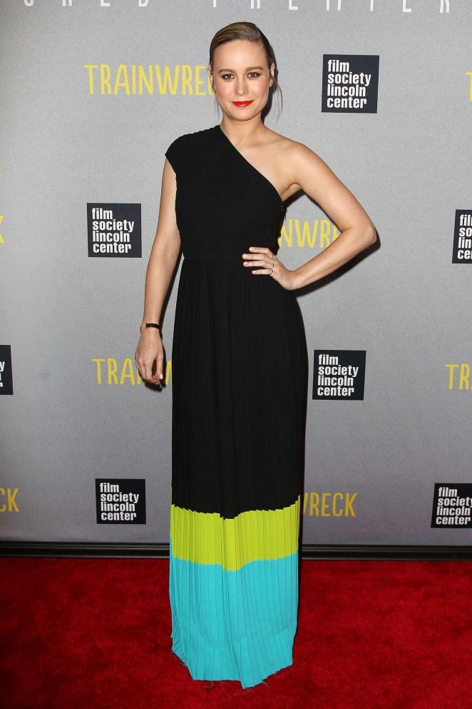 Brie Larson – 'Trainwreck' Premiere in NYC
