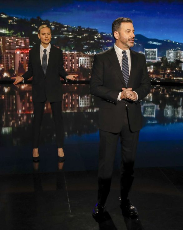 Brie Larson - Visits Jimmy Kimmel Live! in Hollywood
