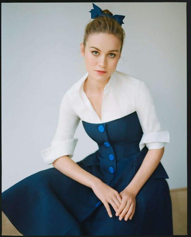 Brie Larson - Vogue Magazine (October 2015)